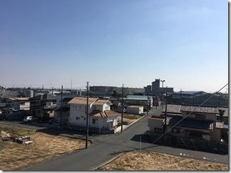 羽生市西A様 東京スカイツリー方向の景色(完了)。