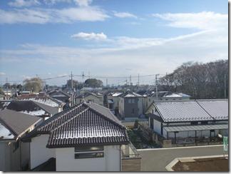 北本市中丸N様 東京スカイツリー方向の景色(完了)。