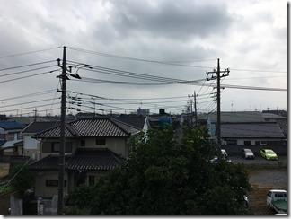 鴻巣市氷川町S様 東京スカイツリー方向の景色(完了)。