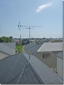 桶川市坂田A様 アンテナ工事完了。