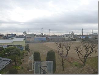 鴻巣市屈巣A様 東京スカイツリー方向の景色(完了)。