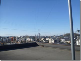 久喜市西大輪A様 前橋局方向の景色(完了)。