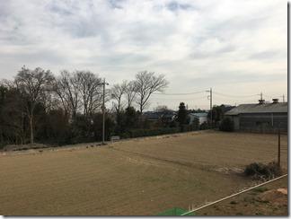 鴻巣市広田A様 東京スカイツリー方向の景色(完了)。