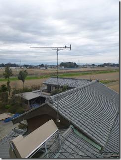 行田市北根A様 アンテナ工事完了。