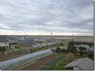 行田市北根A様 東京スカイツリー方向の景色(完了)。