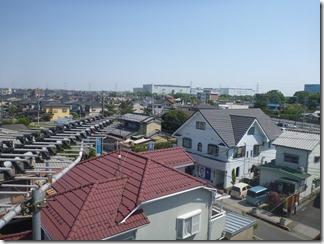 加須市騎西C様 東京スカイツリー方向の景色(完了)。