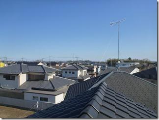 熊谷市佐谷田E様 東京スカイツリー方向の景色(完了)。