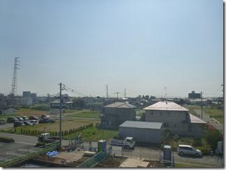 鴻巣市北新宿F様 東京スカイツリー方向の景色(完了)。