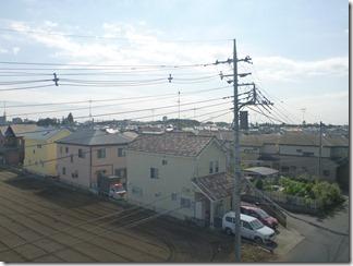 鴻巣市登戸F様 東京スカイツリー方向の景色(完了)。
