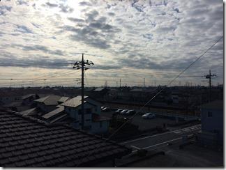 鴻巣市ひばり野F様 東京スカイツリー方向の景色。