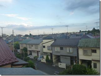 鴻巣市緑町F様 東京スカイツリー方向の景色。