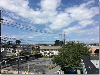 鴻巣市雷電H様 前橋局方向の景色(完了)。