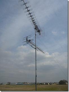 行田市小針H様 アンテナ工事完了。
