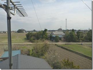 行田市小針H様 東京スカイツリー方向の景色(完了)。