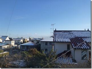 行田市富士見町H様 東京スカイツリー方向の景色。