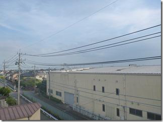 鴻巣市下忍I様 東京スカイツリー方向の景色(完了)。