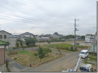 加須市下高柳I様 東京スカイツリー方向の景色。