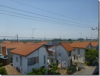 熊谷市熊谷市上須戸I様 児玉局方向の景色。