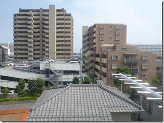 上尾市柏座I様 東京スカイツリー方向の景色。