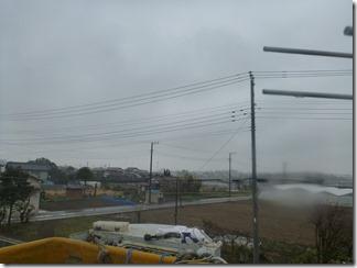 加須市上崎K様 東京スカイツリー方向の景色(完了)。