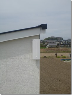 加須市中ノ目K様 アンテナ工事完了(UHF)。