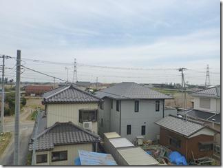 加須市中ノ目K様 東京スカイツリー方向の景色(完了)。