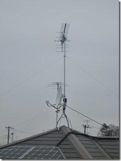 行田市谷郷K様 アンテナ工事完了。
