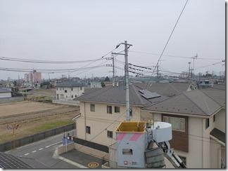 行田市谷郷K様 東京スカイツリー方向の景色(完了)。