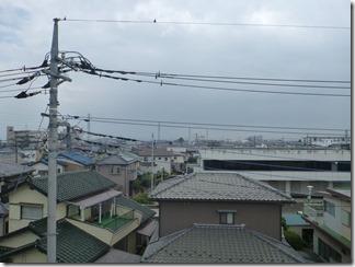 鴻巣市人形K様 東京スカイツリー方向の景色(完了)。