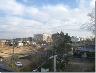 吉見町長谷K様 東京スカイツリー方向の景色(完了)。