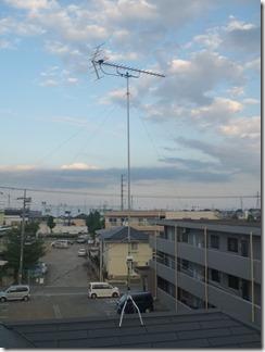 熊谷市原島K様 アンテナ工事完了。