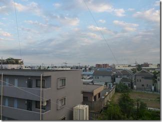 熊谷市原島K様 東京スカイツリー方向の景色(完了)。