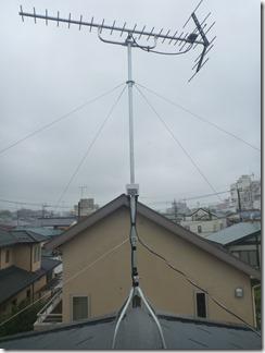 行田市旭町K様 アンテナ工事完了。