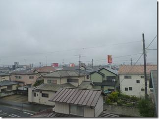 行田市旭町K様 東京スカイツリー方向の景色(完了)。