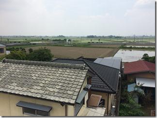 行田市上池守K様 東京スカイツリー方向の景色(完了)。