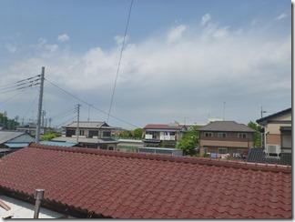 羽生市上新郷K様 前橋局方向の景色。