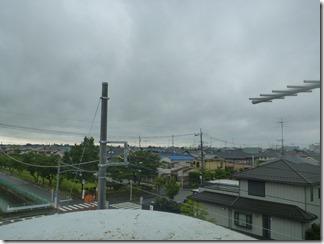 鴻巣市ひばり野K様 東京スカイツリー方向の景色。