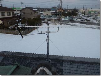 熊谷市広瀬K様 アンテナ工事完了。