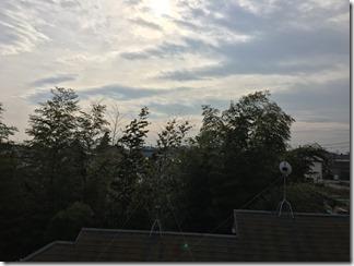 鴻巣市滝馬室K様 東京スカイツリー方向の景色(完了)。