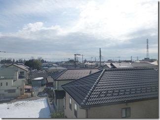 北本市北本K様 東京スカイツリー方向の景色(完了)。