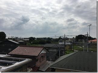 鴻巣市大間M様 東京スカイツリー方向の景色(完了)。
