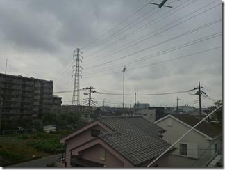 北本市深井M様 東京スカイツリー方向の景色(完了)。