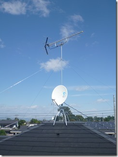 鴻巣市北根M様 アンテナ工事完了。