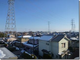 熊谷市玉井M様 東京スカイツリー方向の景色(完了)。