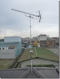 行田市長野M様 アンテナ工事完了。