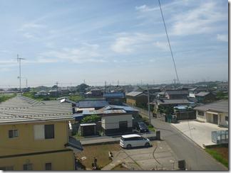 行田市野M様 東京スカイツリー方向の景色(完了)。