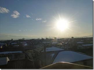 熊谷市玉井M様児玉局方向の景色。