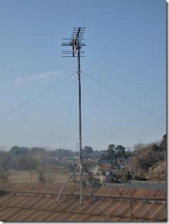 桶川市川田谷M様 アンテナ工事完了。