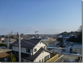 桶川市川田谷M様 東京スカイツリー方向の景色(完了)。