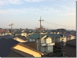 熊谷市万吉M様 東京スカイツリー方向の景色(完了)。